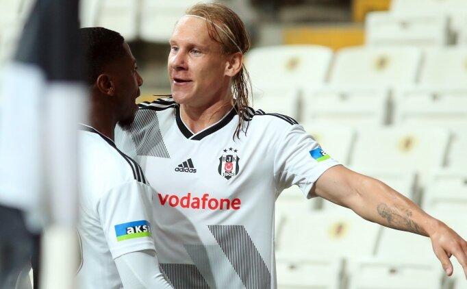 Beşiktaş'ta zirvede Domagoj Vida var