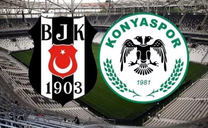Beşiktaş Konyaspor bedava izle (Beşiktaş Konyaspor CANLI YAYIN)