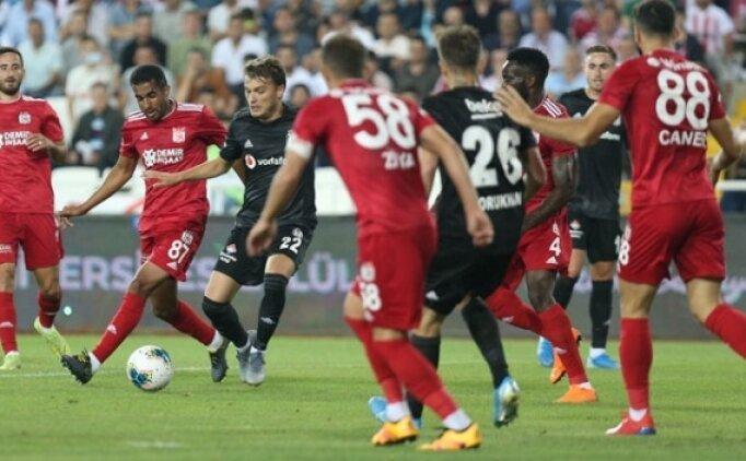 Beşiktaş - Sivasspor: Muhtemel 11'ler
