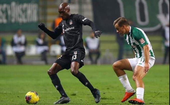 Beşiktaş ve Konyaspor'un 11'i belli oldu