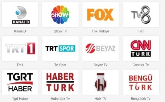 Türk TV kanalları izle, Canlı yayın Türk TV kanalları Star, Kanal D, TRT 1, Show, Fox) (26 Kasım Perşembe)