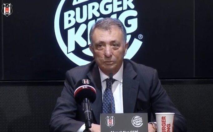 Ahmet Nur Çebi'den transfer sponsorluğu mesajı