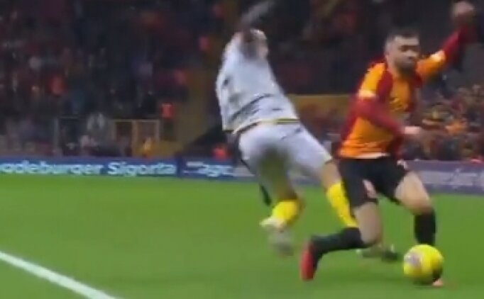 Galatasaray'da kırmızı kart tepkisi