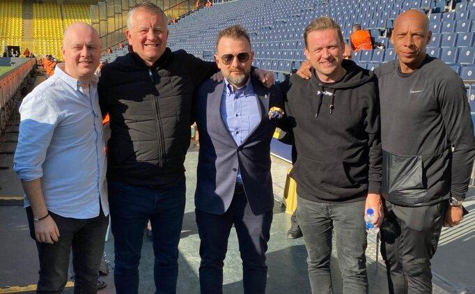 Fenerbahçe - Galatasaray derbisine İngiltere'den geldi