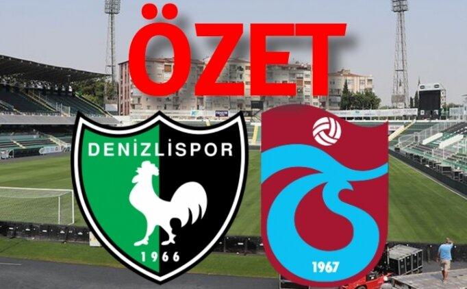 Süper Lig Denizlispor 2-1  Trabzonspor maçı özeti, golleri izle