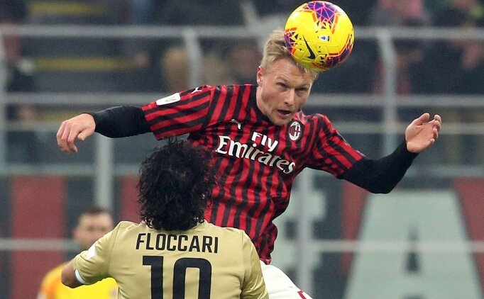 Simon Kjaer: 'AC Milan benim rüyamdı'