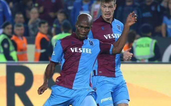 Trabzonspor'da Anthony Nwakaeme sakatlandı