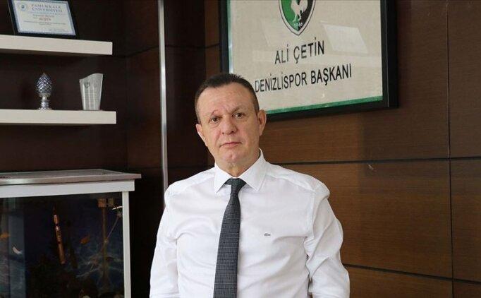 Ali Çetin: 'Denizli, inandıktan sonra önümüzde hiçbir engel duramaz'