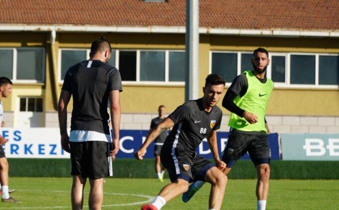 Kümede kalmak isteyen Kayserispor, Beşiktaş'a hazırlanıyor