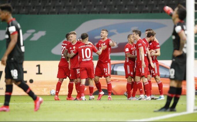 Bayern Münih, sezonu çifte kupayla tamamladı!