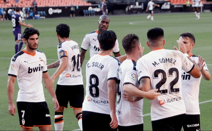 Valencia 89'da attı, 4 maçlık hasrete son verdi