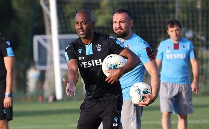 Trabzonspor'da Eddie Newton'la ilk antrenman