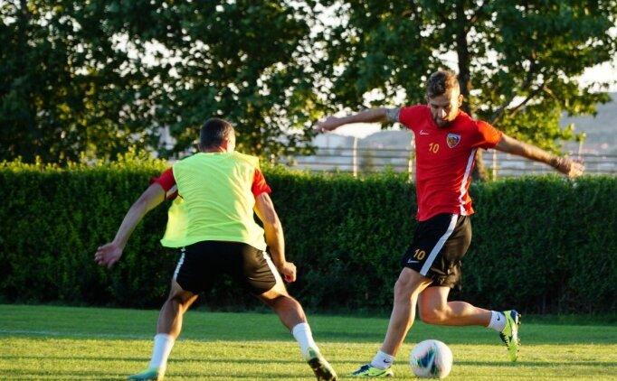 Kayserispor, Trabzonspor maçı hazırlıklarını sürdürdü