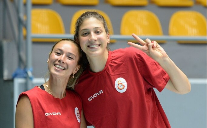 Galatasaray Kadın Voleybol Takımı yeni sezona hazırlanıyor