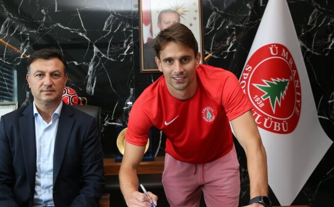Ümraniyespor, Hırvat golcü Zivkovic'i renklerine bağladı