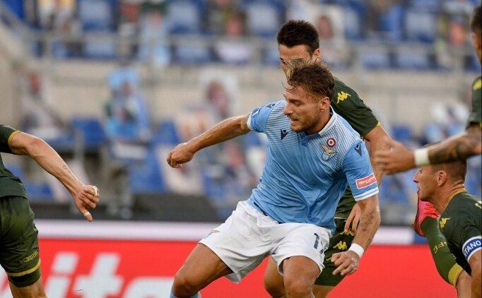 Immobile yine attı, Lazio kazandı