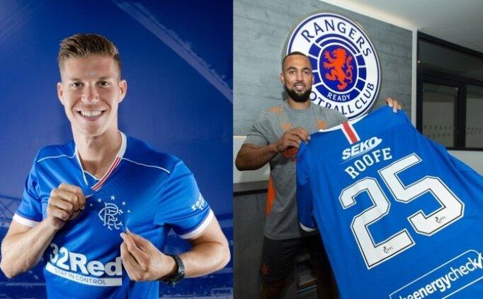 Rangers, Kemar Roofe ve Cedric Itten'i transfer etti