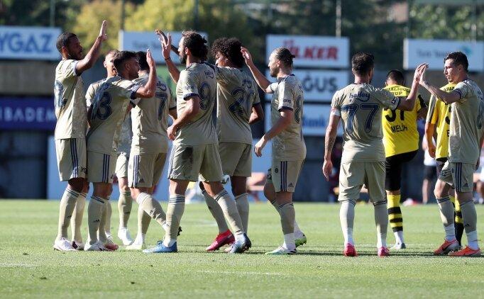 Yeni transferler oynadı, Fenerbahçe 4-0 kazandı