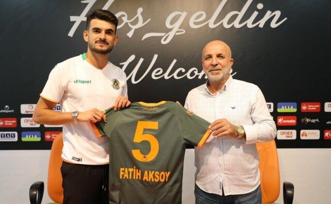 Alanyaspor, Fatih Aksoy'u açıkladı