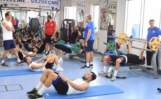 BB Erzurumspor'da yeni sezon hazırlıkları sürüyor