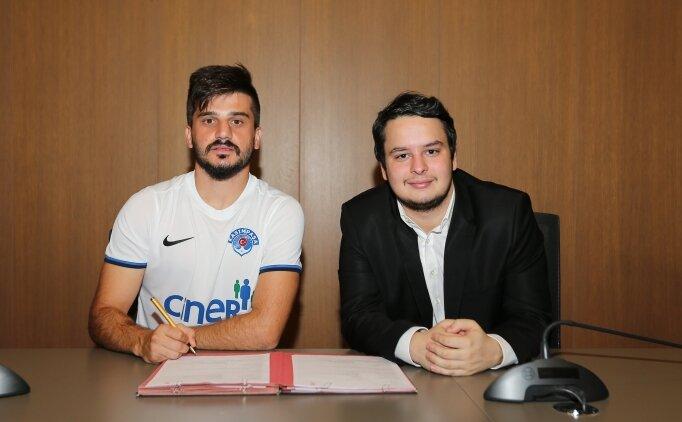Kasımpaşa, Yasin Dülger'i transfer etti