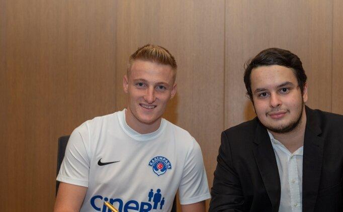 Kasımpaşa, Macar futbolcu Kevin Varga'yı transfer etti
