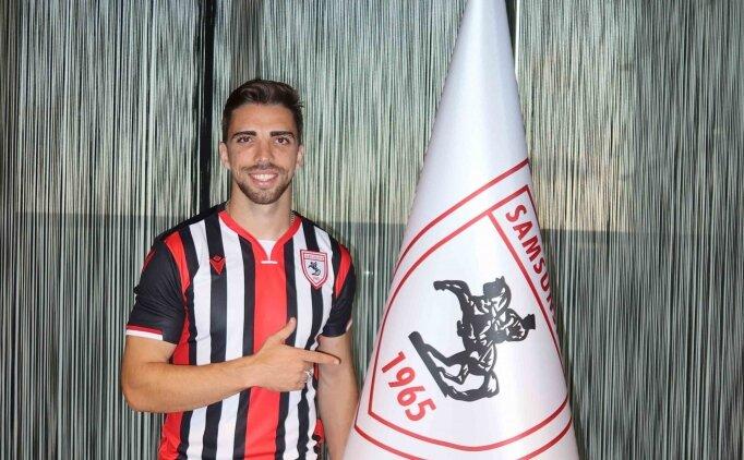 Samsunspor, Portekizli forvet Tomane ile 3+1 yıllık sözleşme imzaladı