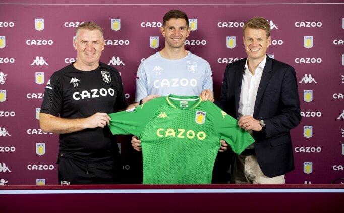 Aston Villa, Arsenal'dan Emiliano Martinez'i transfer etti