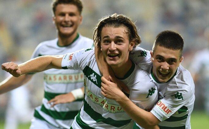 Bursaspor, 2. haftada ilk kez kazandı