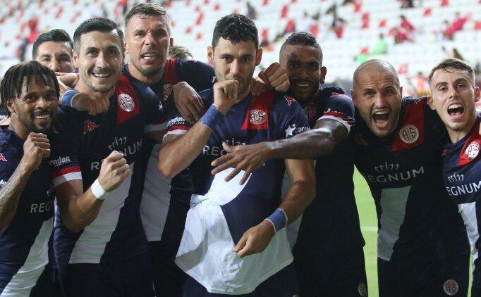 Kapanışta kazanan Antalyaspor!