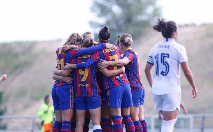 İlk kadınlar El Clasico'sunda kazanan Barcelona oldu