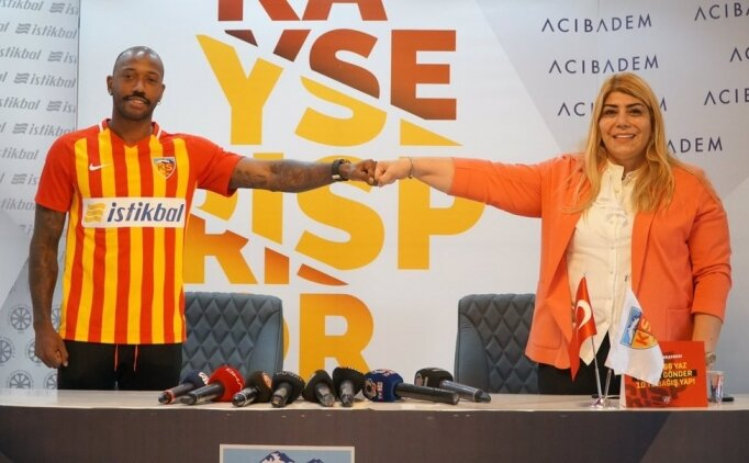 Manuel Fernandes, Kayserispor'a iki yıllık imza attı
