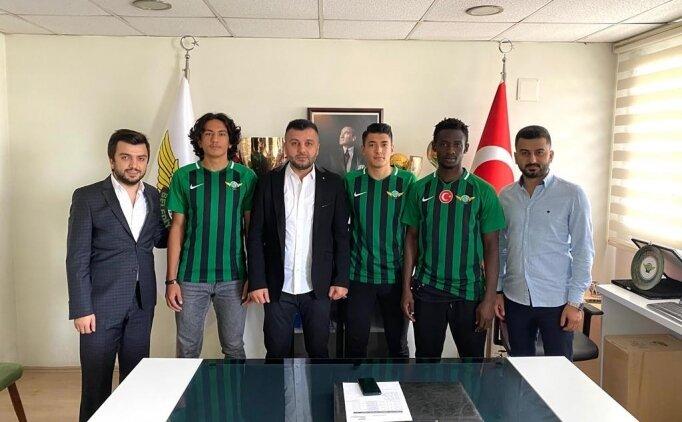 Akhisarspor, altyapıdan 3 futbolcu ile sözleşme imzaladı