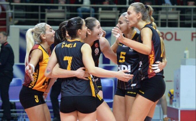 Galatasaray, Eczacıbaşı'nı 5 sette devirdi