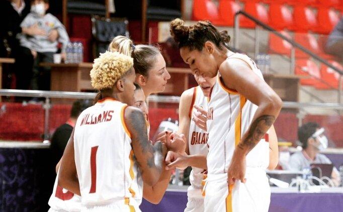 Galatasaray Kadın Basketbol 15 sayı farkla kazandı