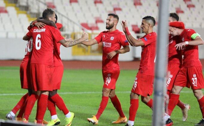 Sivasspor'un Avrupa'da 11 yıl sonra yüzü güldü!