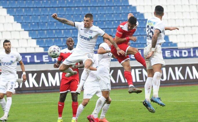 Süper Lig'de 4 gollü düello: Kasımpaşa 2-2 Antalyaspor