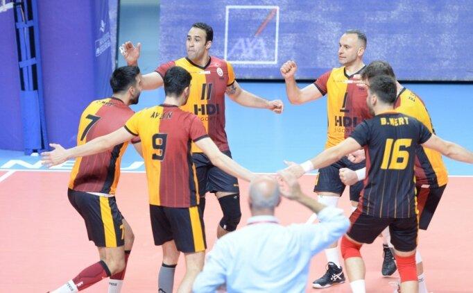 Galatasaray HDI Sigorta, deplasmanda 3-0'la kazandı