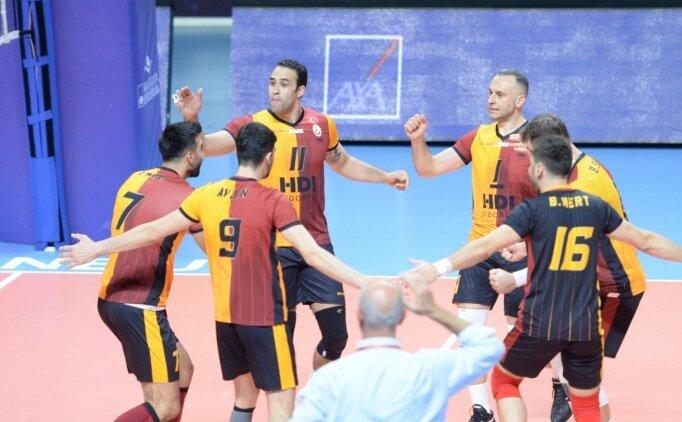 Galatasaray HDI Sigorta, sahasında Arkas'ı mağlup etti