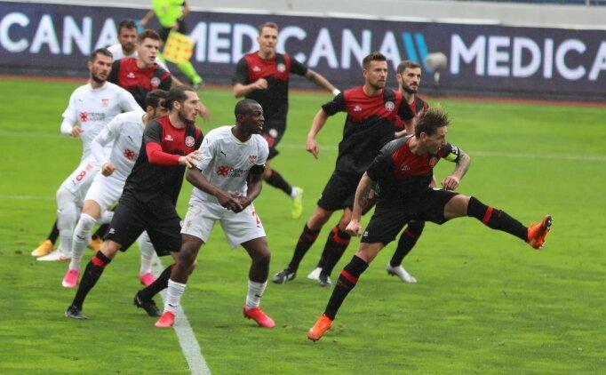 Fatih Karagümrük, Sivasspor'un 3 puan umudunu söndürdü