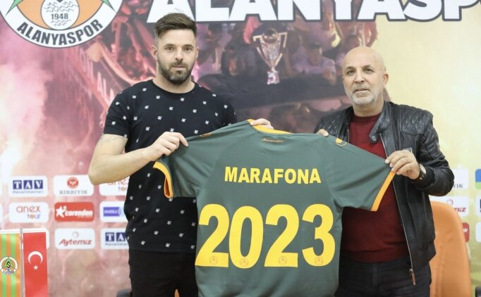 Aytemiz Alanyaspor, Marafona ile sözleşme uzattı