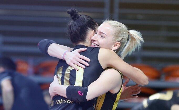 VakıfBank, CEV Şampiyonlar Ligi'nde ilk maçını kazandı
