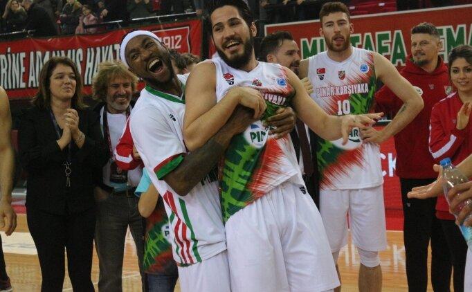Pınar Karşıyaka'da FIBA Avrupa Kupası'nda çeyrek finale kalma sevinci