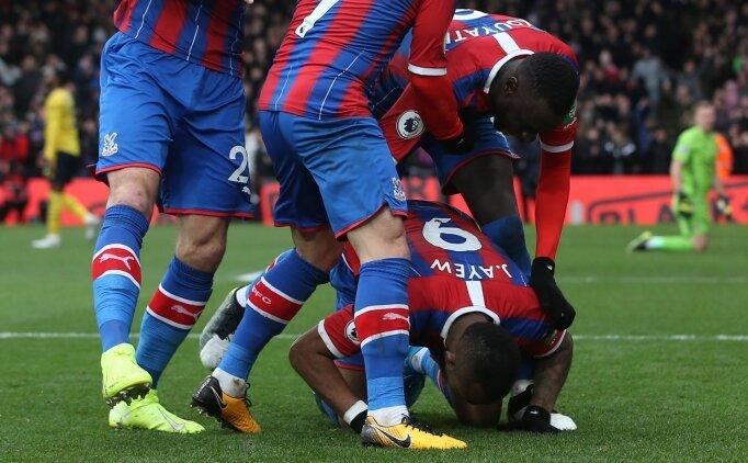 Cenk Tosun oynadı; Crystal Palace - Arsenal yenişemedi