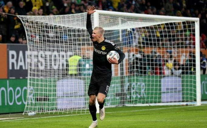Haaland ilk maçında çıldırdı, Dortmund deplasmanda 5 attı!
