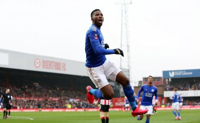Çağlar oynadı, Leicester FA Cup'ta turladı!