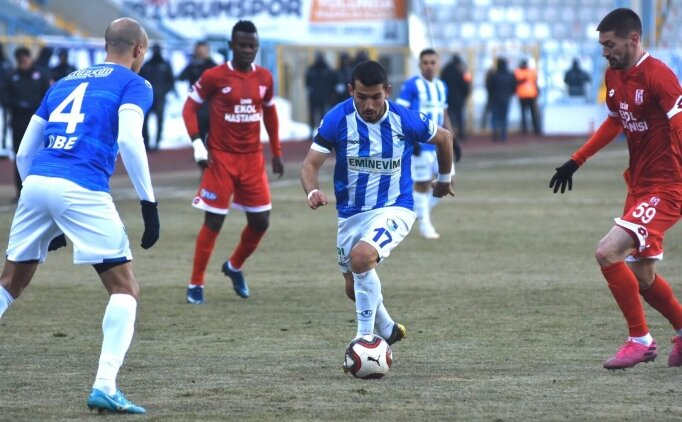 Erzurumspor, kupadan sonra ligde de kazandı!