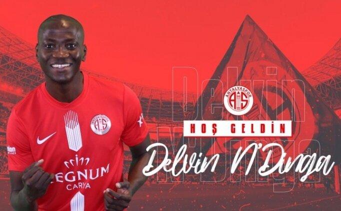 Antalyaspor, Delvin N'Dinga'yı transfer etti
