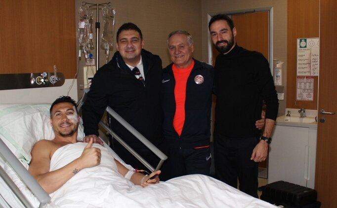 Adis Jahovic elmacık kemiği operasyonu geçirdi