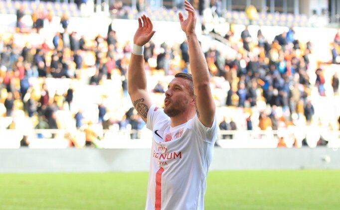 Lukas Podolski: 'Buraya tatile gelmedim!'
